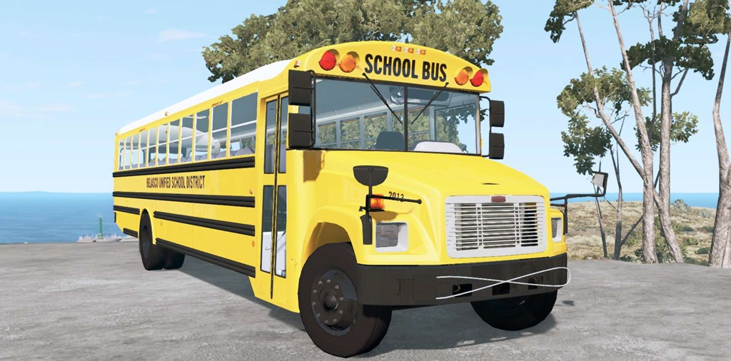 BeamNG - Freightliner FS-65 School Bus V1.1