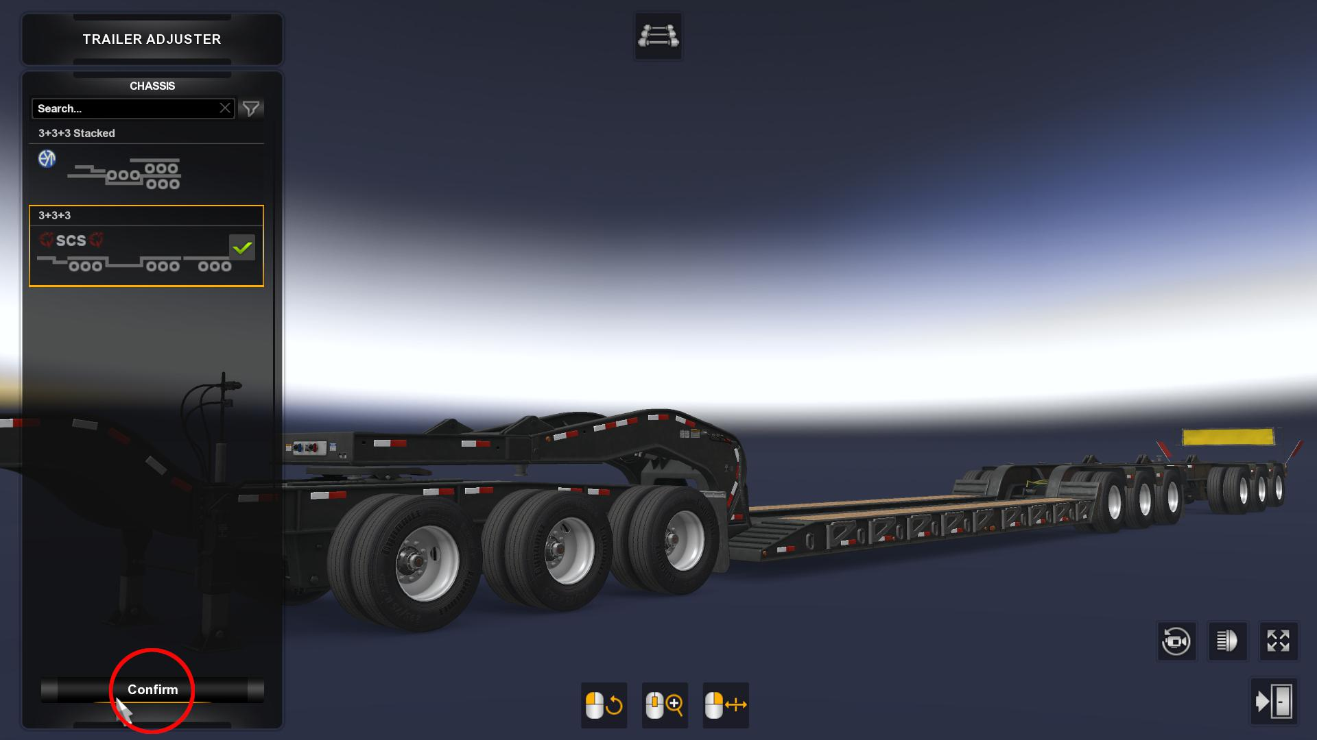 ATS - Stacked SCS Lowboy Trailers (1.40.x)