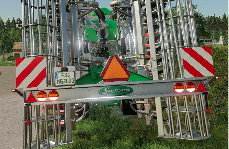 FS19 - Samson Slurrytools With German Licenseplates V1.0