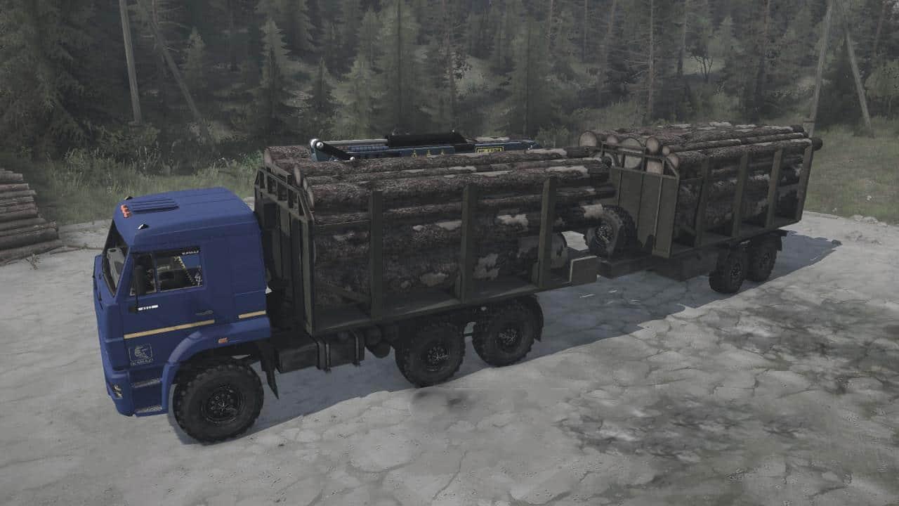 Spintires:Mudrunner - KamAZ-6522-53 Truck V07.05.21