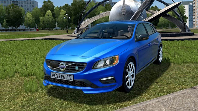 City Car Driving 1.5.9 - Volvo V60 Polestar 2015