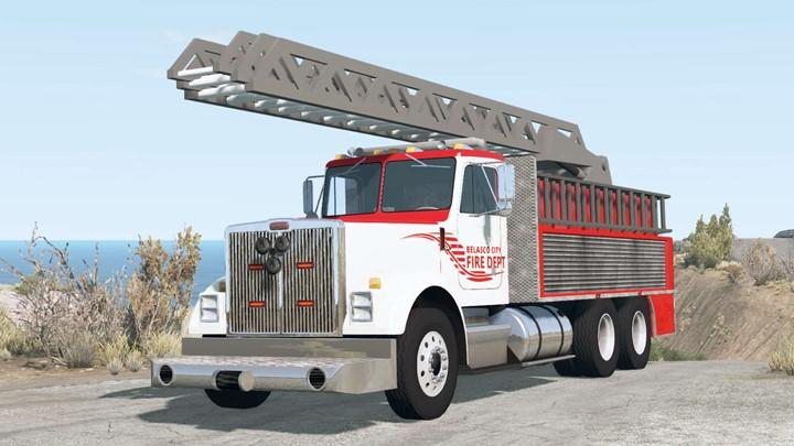 BeamNG - Gavril T-Series Ladder Fire Truck V1.2