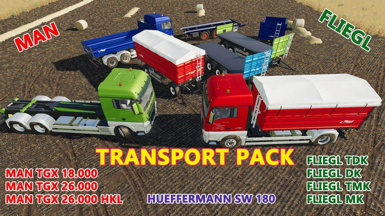 FS19 - Transport Pack V1.0.0.2