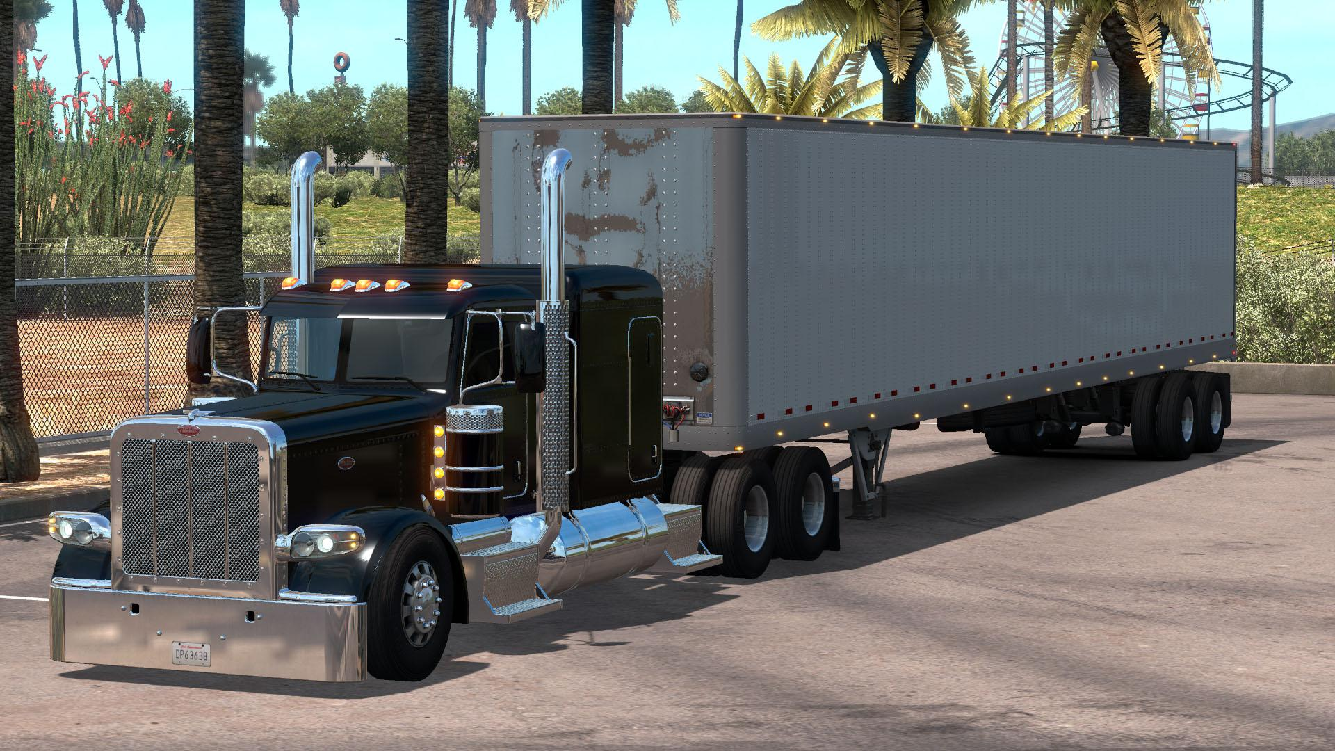 Peterbilt 389 Lowered Chassis Mod V1.0 (1.38.x)