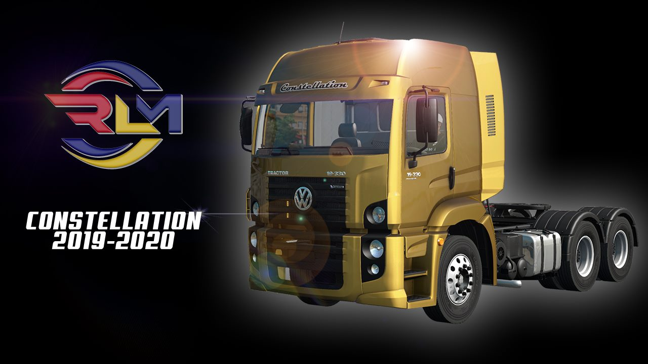 ETS2 - Volkswagen Constellation 2019-2020 Truck (1.40.x)
