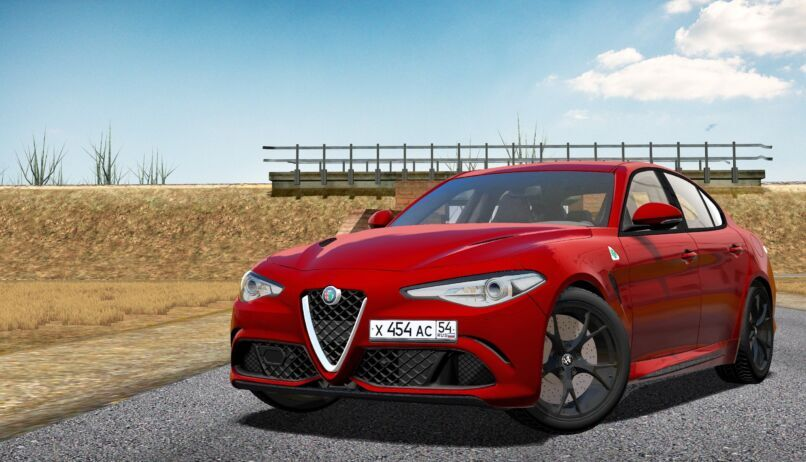 City Car Driving 1.5.9 - Alfa Romeo Giulia Quadrifoglio 2017