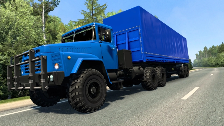 ETS2 - KrAZ-260 (1993) + Bonus (1.40.x)