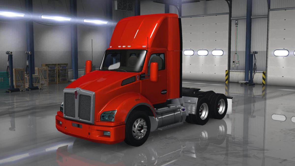 ATS - Kenworth T880 Truck Fix V1.7 (1.36.x)