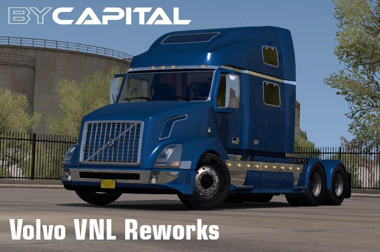 ATS - Volvo VNL Reworks Truck V24.01.21 (1.39.x)