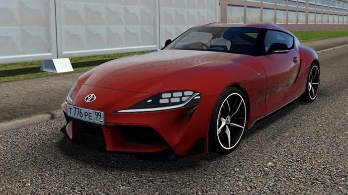 City Car Driving 1.5.9 – Toyota Supra A90 2019