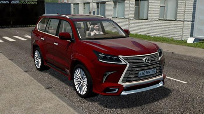 City Car Driving 1.5.9 – Lexus LX570 Wald