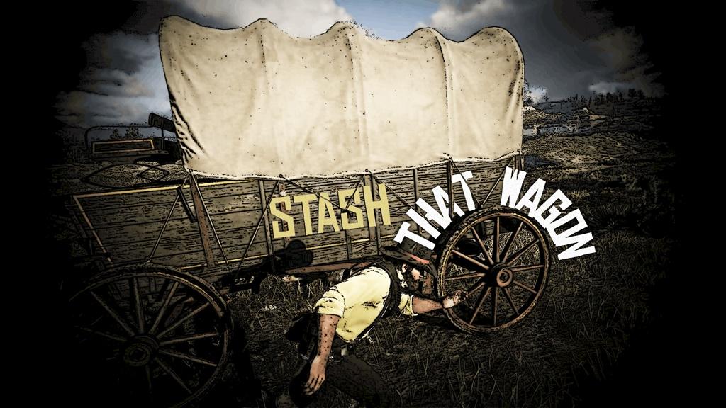 RDR2 - Stash That Wagon