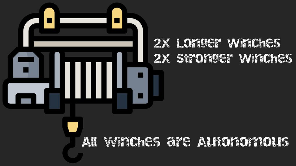 SnowRunner - Winches 2X + All Winches Autonomous/Engine Off V1.0.1