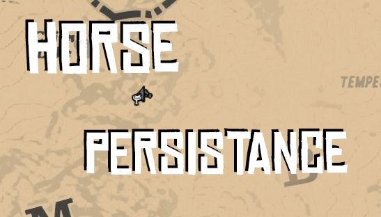 RDR2 - Horse Persistance