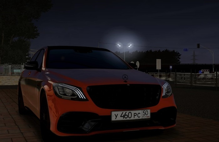 City Car Driving 1.5.9 – Mercedes-Benz S63 W222 2018 Fix