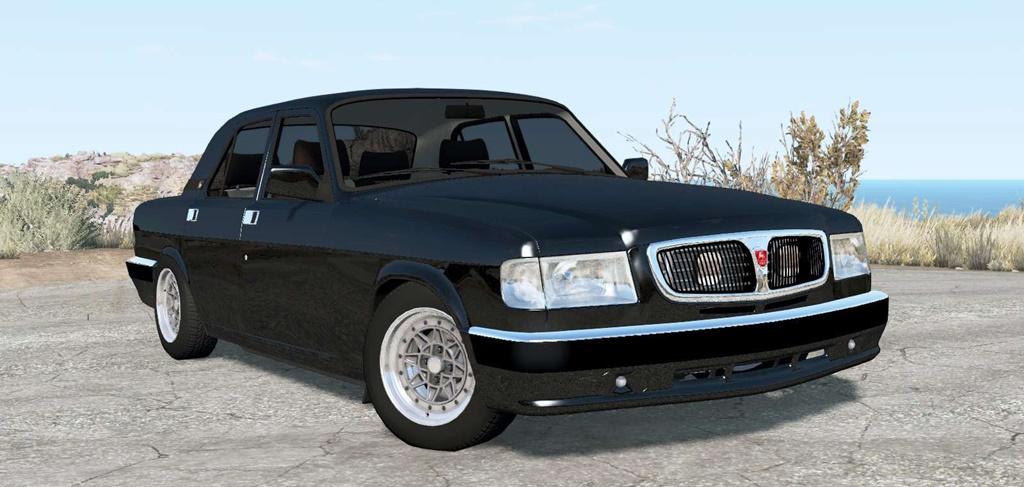 BeamNG - Gaz-3110 Volga Car Mod