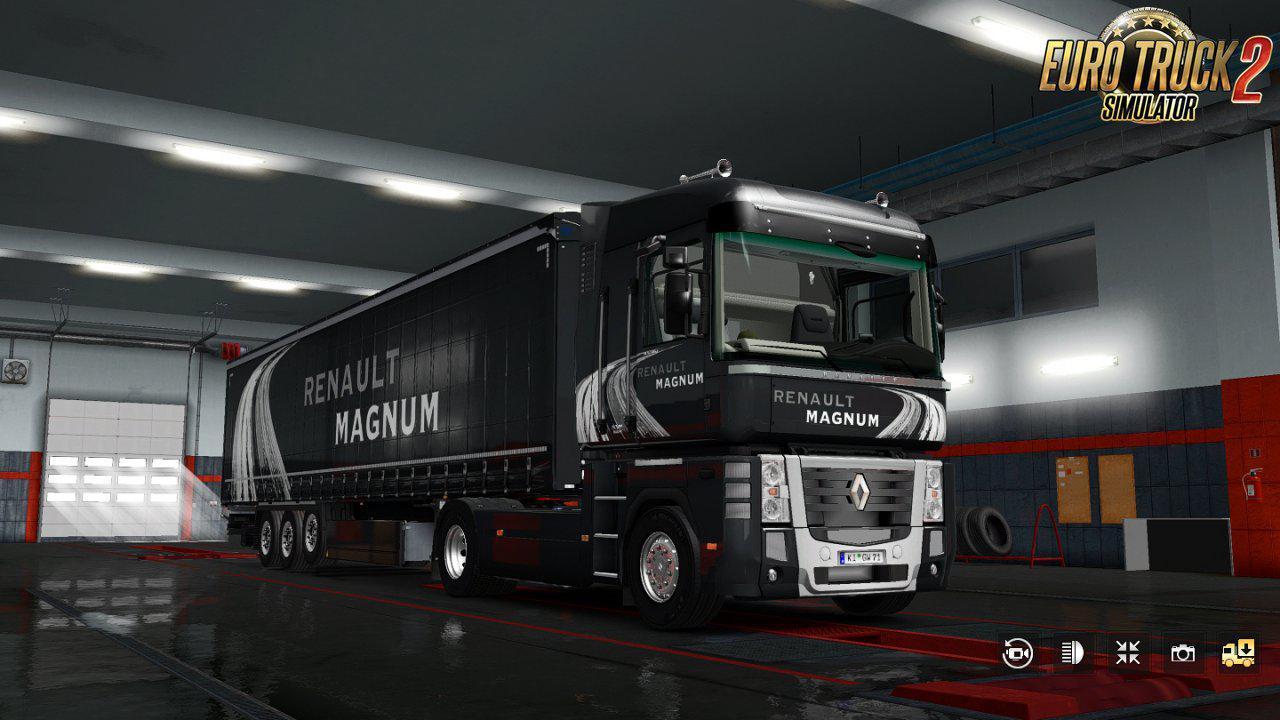 ETS2 - Renault Magnum Updates V25 (1.39.x)