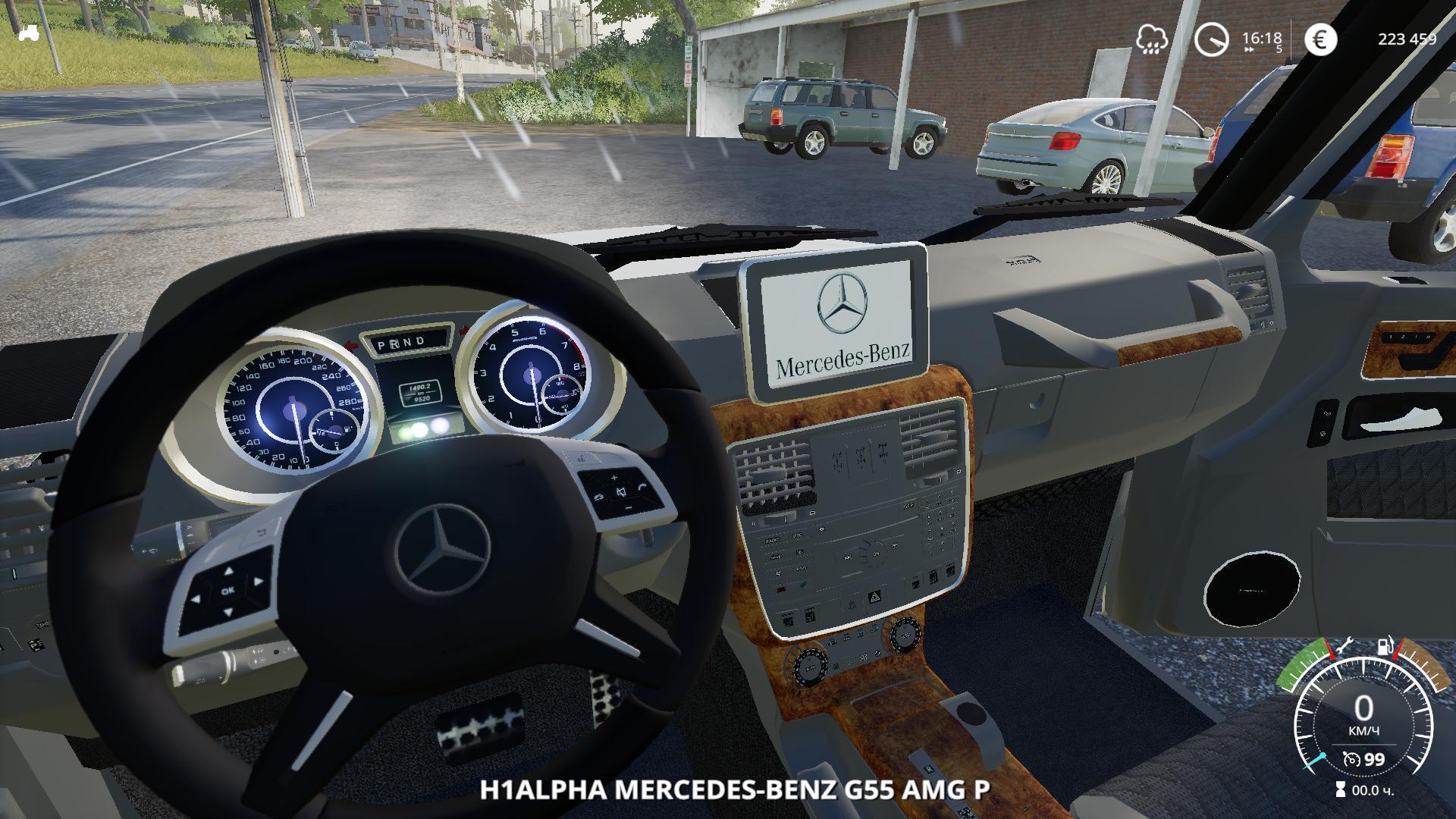 FS19 - Mercedes-Benz G55 AMG Police V1.0