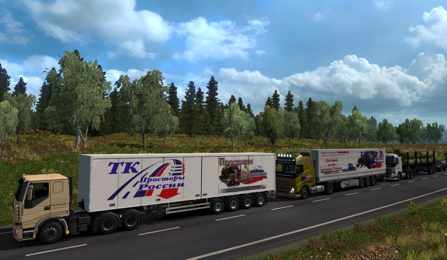 ETS2 - Russian Open Spaces V7.8 (1.37.x)