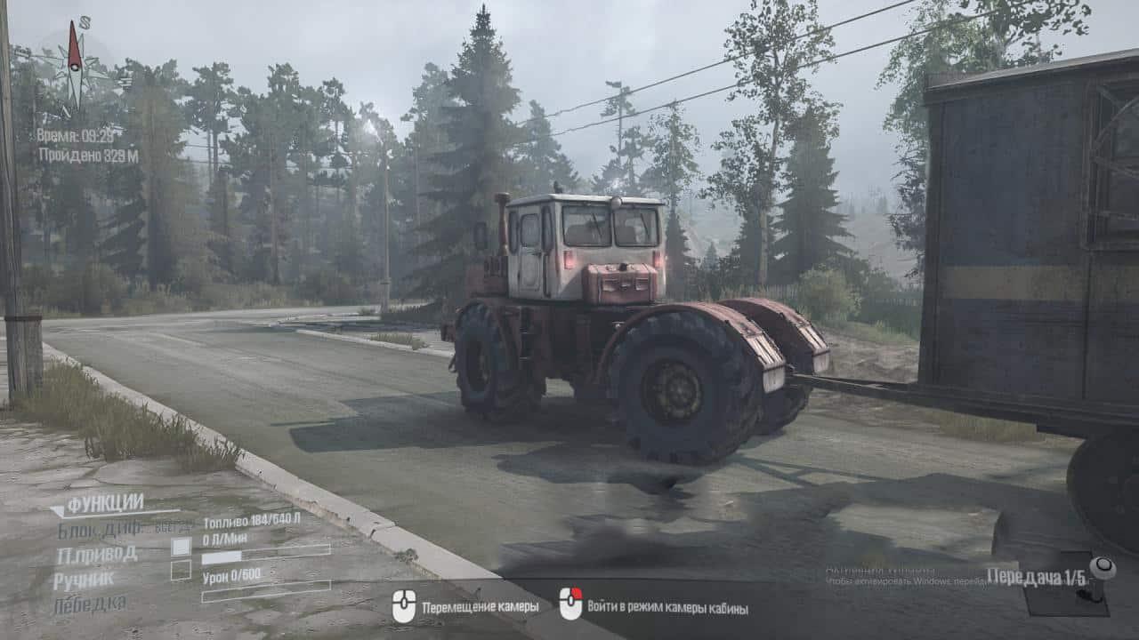 Spintires:Mudrunner - K-700 Tractor V0.1