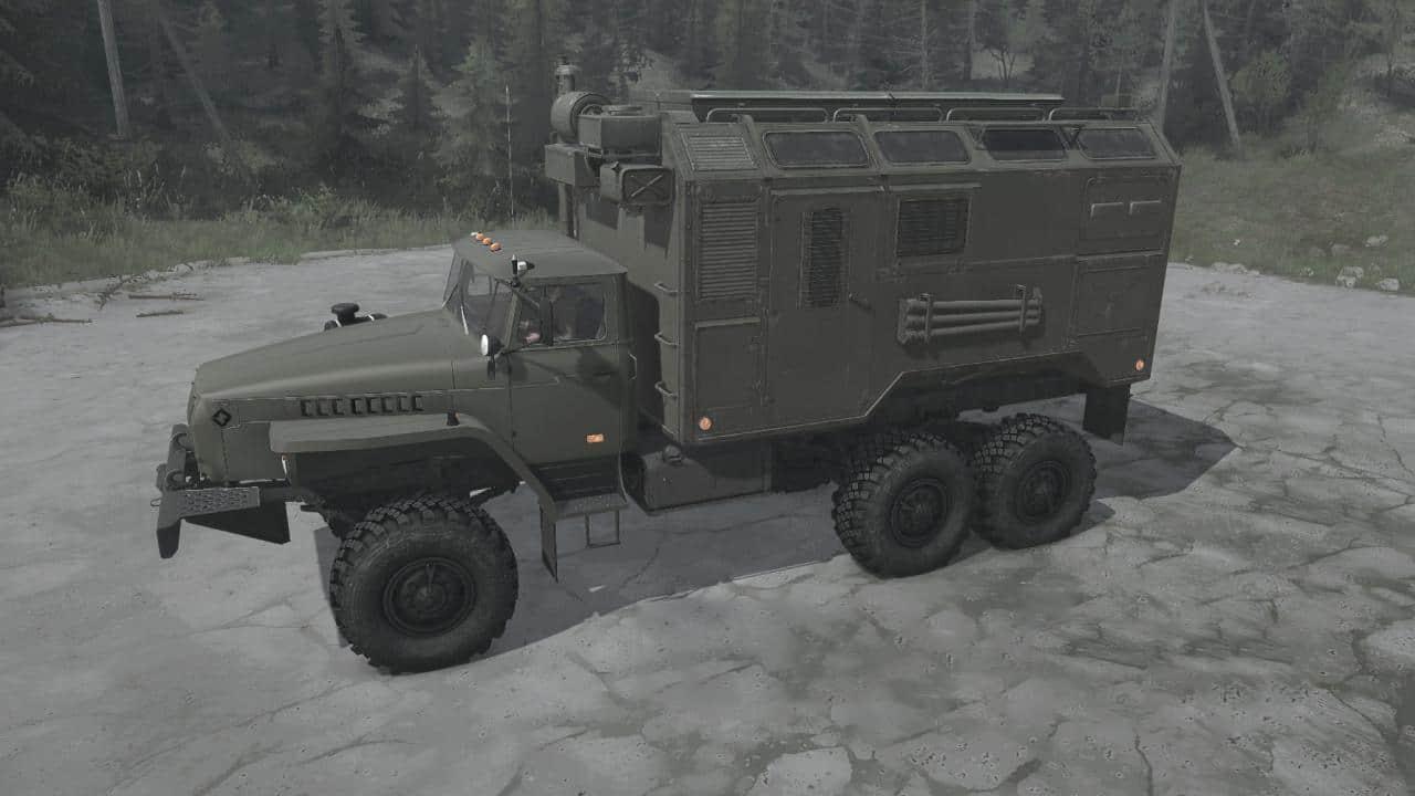 Spintires:Mudrunner - Ural-4320 Truck V06.06.21