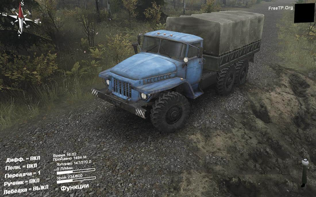 Spintires - Replacing Asphalt with Crushed Stone V1.0