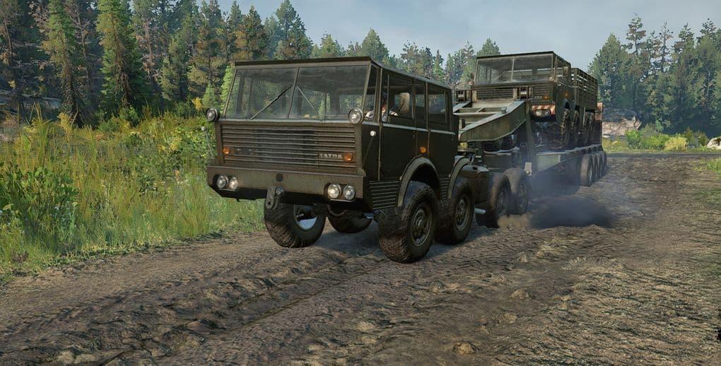 SnowRunner - Tatra 813 8x8 Kolos Truck V1.0.2