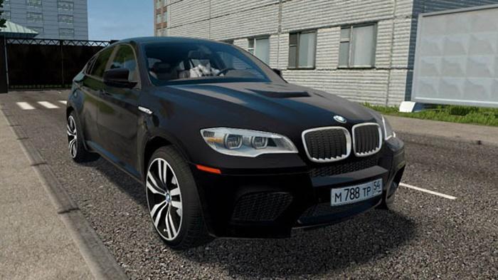 City Car Driving 1.5.9 – BMW X6 M (E71)