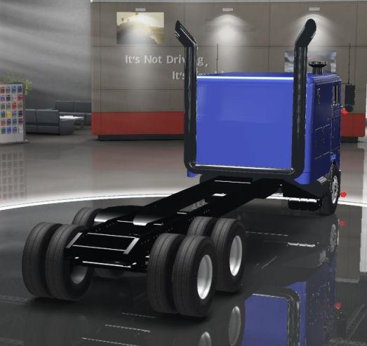 ATS - Peterbilt 352 Cabover Truck V2.0 (1.36.x)