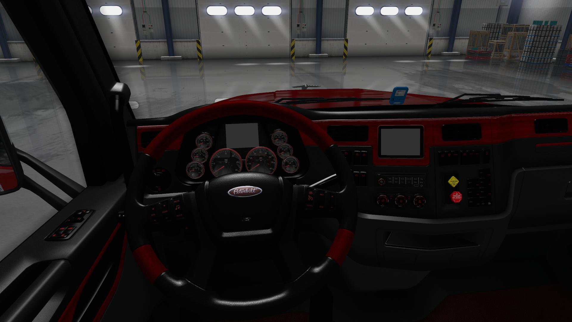 ATS - Peterbilt 567 GTM Platinum Interior V1.0 (1.35.X)