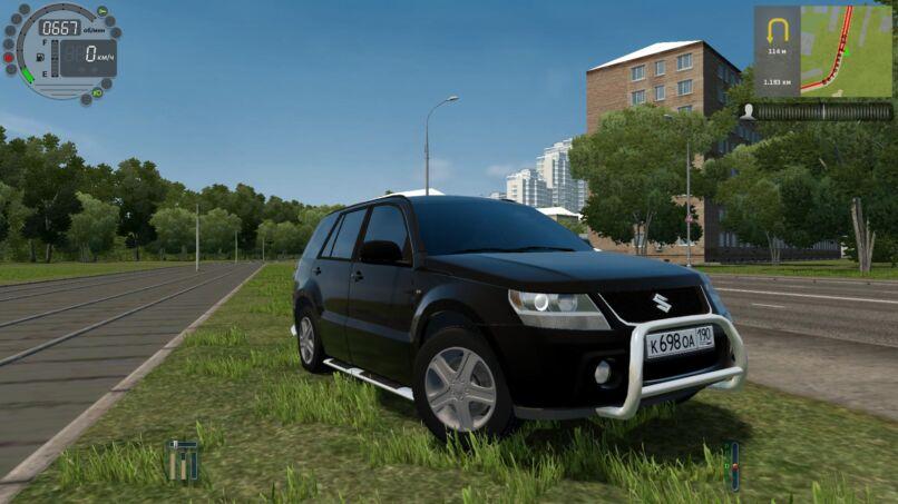 City Car Driving 1.5.9 - Suzuki Grand Vitara