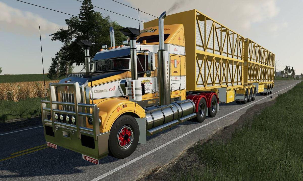 FS19 - Kenworth T408 Sar Truck V1