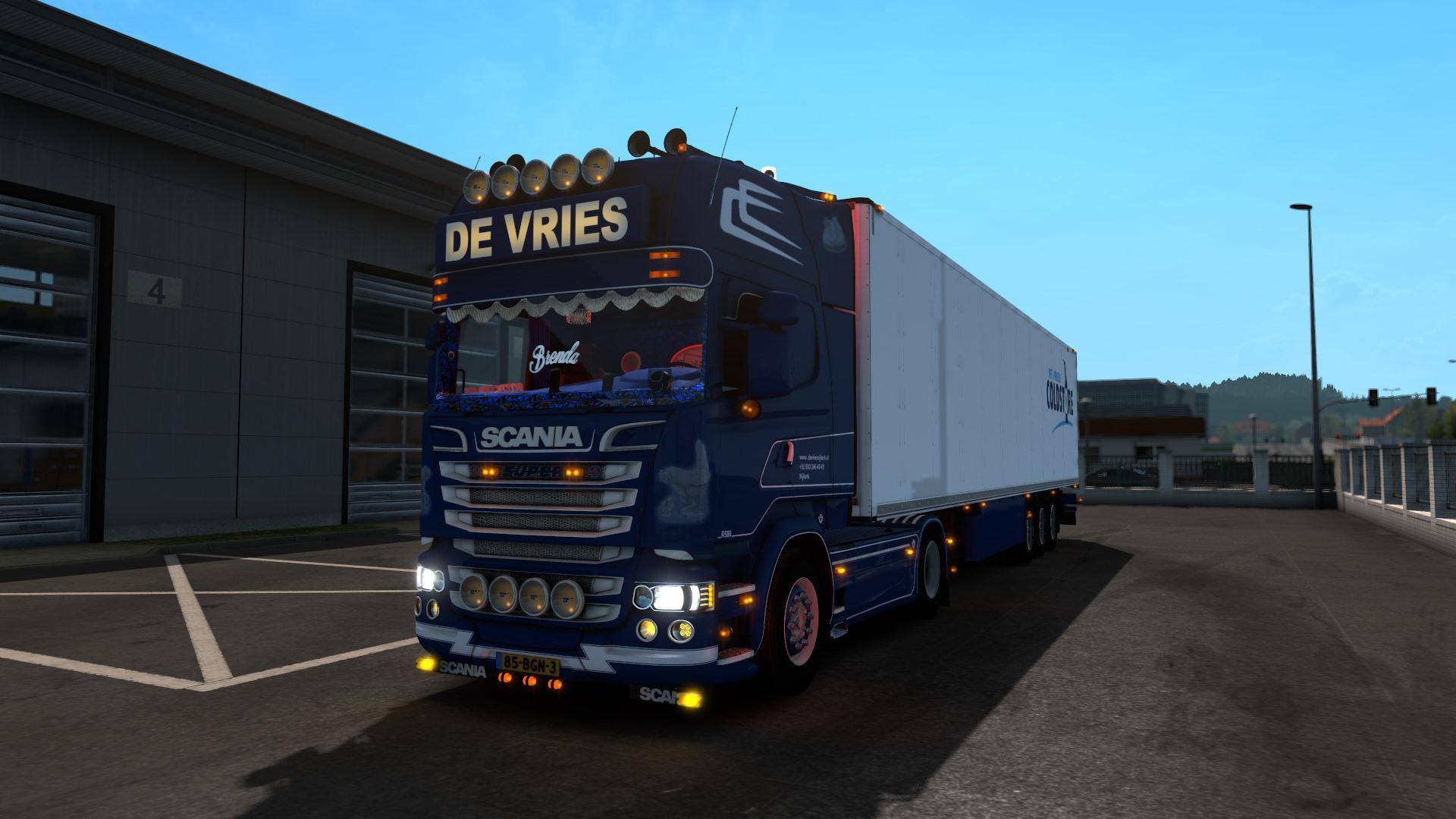 ETS2 - Scania DE Vries Truck (1.39.x)
