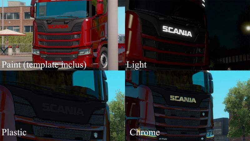 ETS2 - Old Scania Logo from 1969 V1.2 (1.39.x)