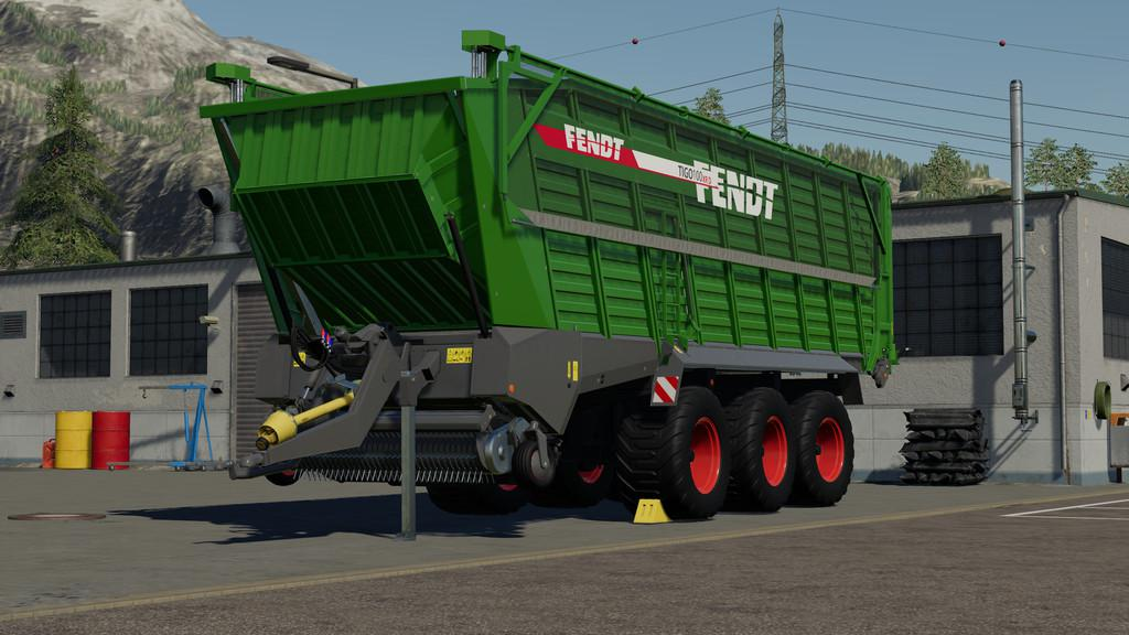 FS19 - Fendt Tigo 100XR Trailer V1.0