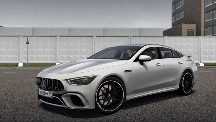 City Car Driving 1.5.9 – Mercedes-Benz AMG GT63S 2019