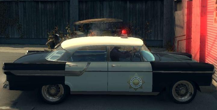 Mafia 2 – New Sound Siren of A Police Car