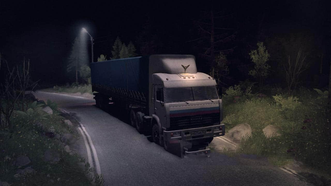 Spintires - Kamaz-54115 Truckers 1 V1.0