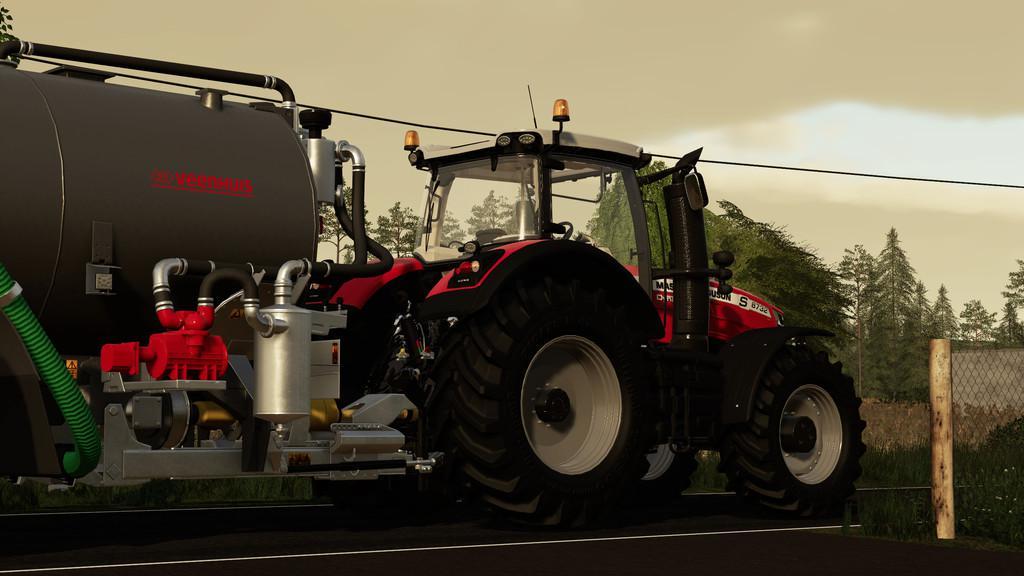 FS19 - Massey Ferguson 8700S Tractor V1.1