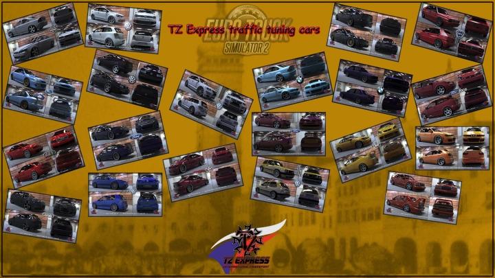ETS2 - TZ Tuning AI Cars (1.41.x)