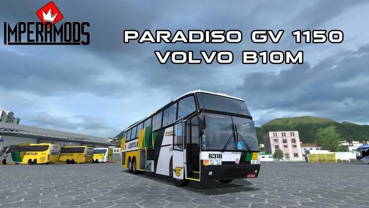 ETS2 - Marcopolo Paradiso GV 1150 Volvo B10M (1.41.x)
