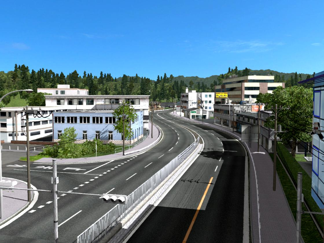 ETS2 - Project Japan Map V0.3.2 (1.36.x)