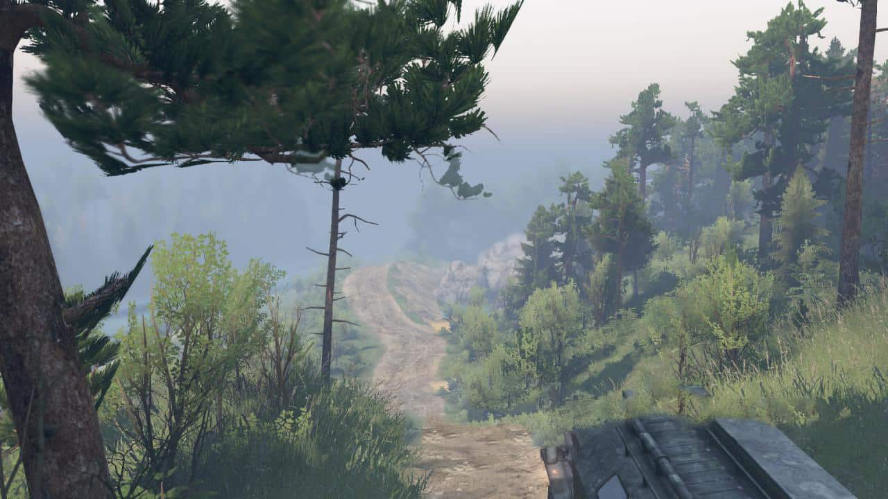 Spintires - Roads of Russia 2 Map V1.0