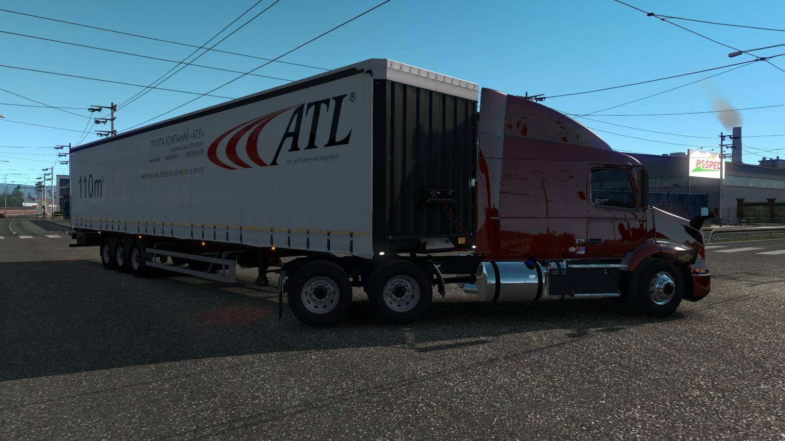 ETS2 - Volvo VNL / Volvo VNR Truck (1.36.x)