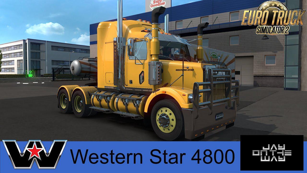 ETS2 - Western Star 4800 Truck (1.36.x)