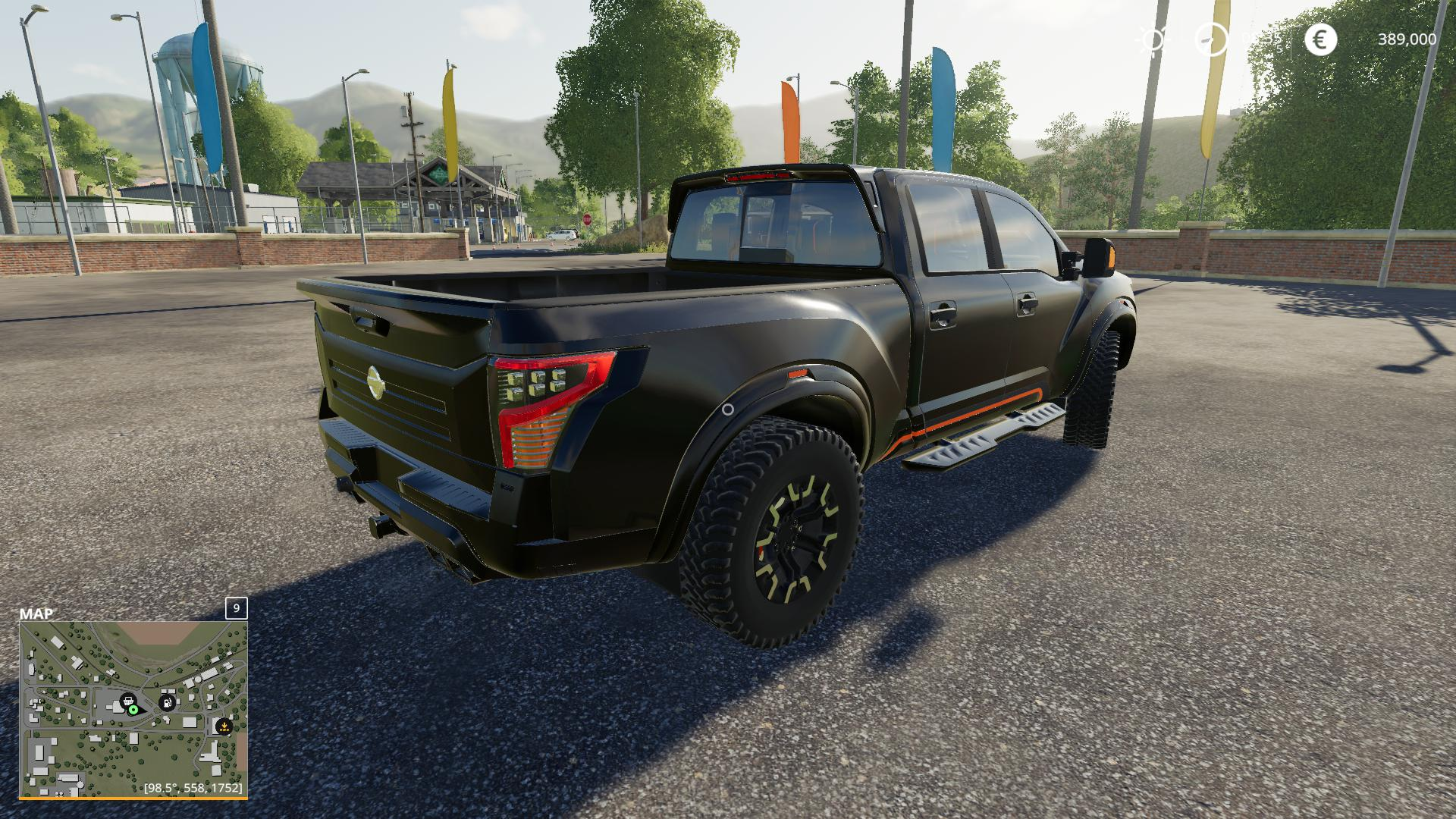 FS19 - Nissan Titan Warrior V2.5