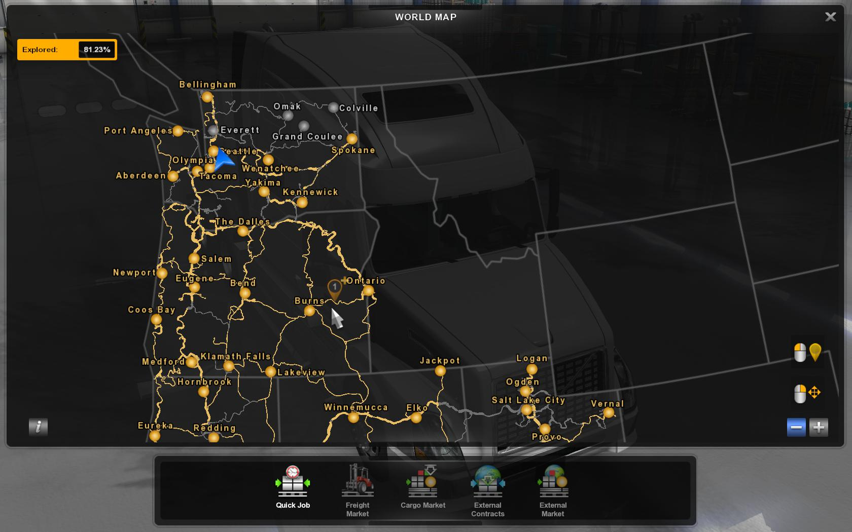 Ats All Garages And Dealers In Map Dlcs V0 1 1 36 X American