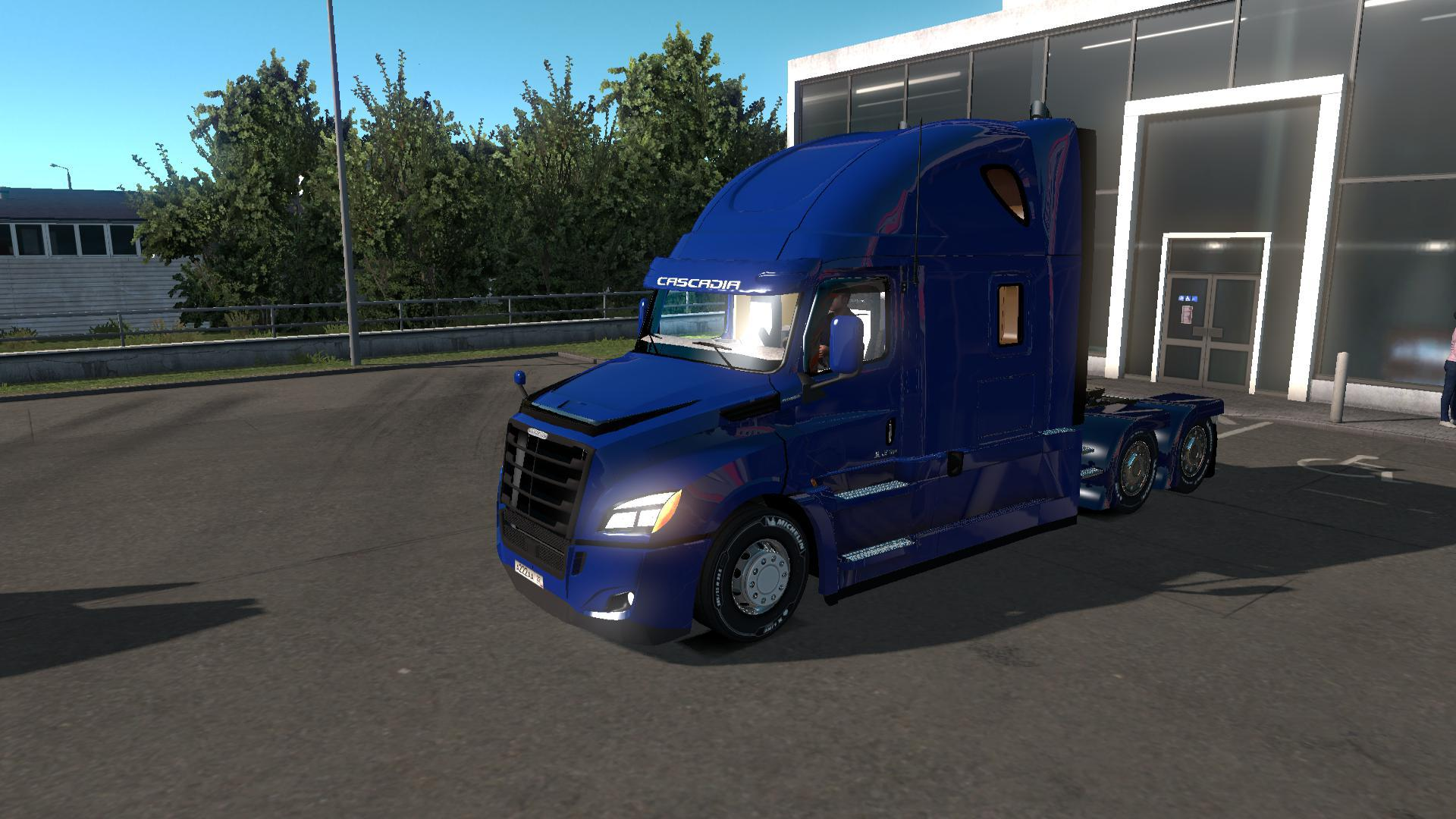 ETS2 - Freightliner Cascadia 2018 Truck V1.14 Fix (1.36.x)