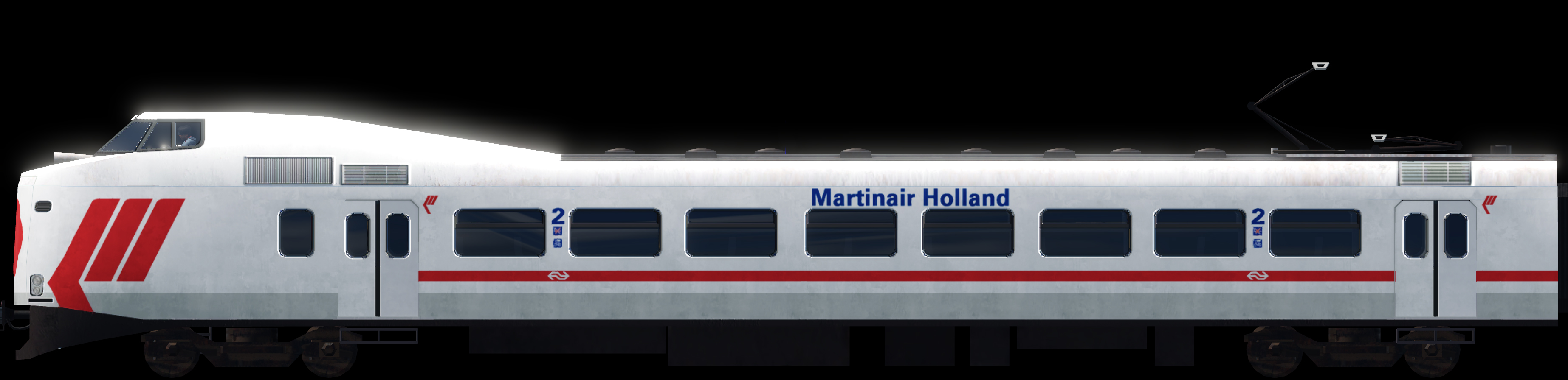 Transport Fever 2 - NS ICM Koploper: Martinair Holland
