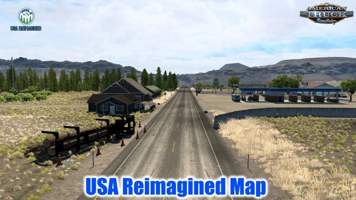 ATS - USA Reimagined Map V1.1 (1.41.x)